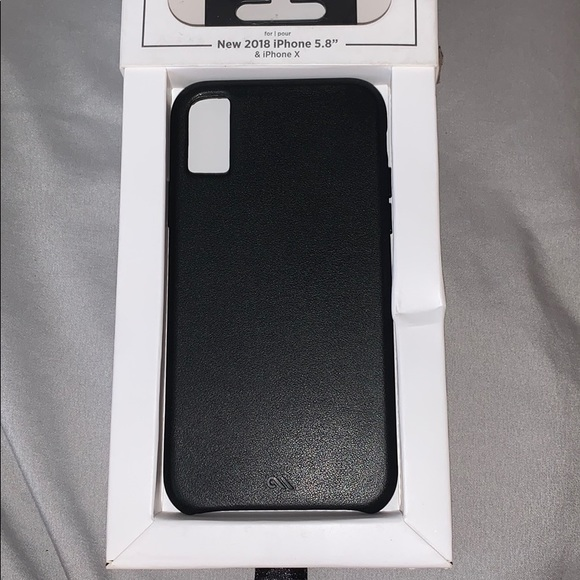 case-mate Other - iPhone X / Xs leather phone case